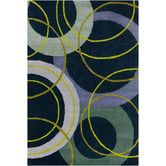 Found it at Wayfair - Cinzia Navy Blue Geometric Area Rug
