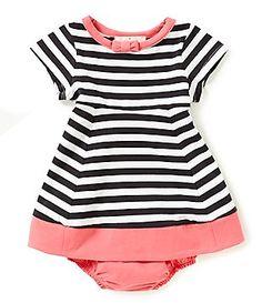 kate spade new york Baby Girls 6-24 Months Watermelon Striped Dress