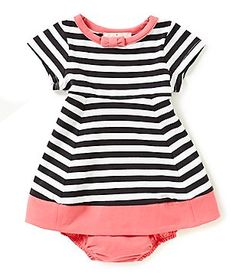 kate spade new york Baby Girls 6-24 Months Watermelon Striped Dress