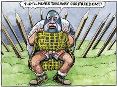 Alex Salmond tells the Leveson inquiry of his dealings with the Murdoch empire Alex Salmond, Political Cartoons, Ticks, Satire, Scotland, Editorial, British, Creatures, Politics
