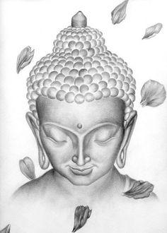 50 Brilliant Buddha Tattoos And Ideas With Meaning beste Buddha Tattoo Designs Ideen Männer Frauen Buddha Lotus Tattoo, Buddha Tattoo Design, Buddha Tattoos, Lotus Tattoo Design, Tattoo Designs, Drawing Designs, Buddha Kunst, Buddha Art, Buddha Head
