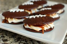 Football-Shaped Whoopie Pies Recipe