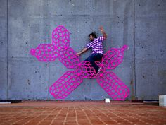 Ingenious Coloured Cubes Created From Neon Tape By Aakash Nihalani