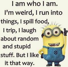 Best 45 Very Funny minions Quotes - Quotes and Humor Funny Minion Memes, Minions Quotes, Funny Jokes, Minion Sayings, Funny Sayings, Minion Humor, Funny Sarcastic, Funny Food, Thats The Way