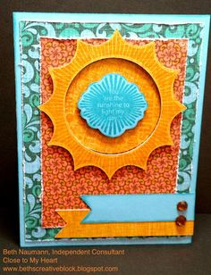 Beths Creative Block!: April SOTM: My Sunshine