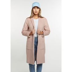 Flatbush Übergangsjacke Oversized Coat rose