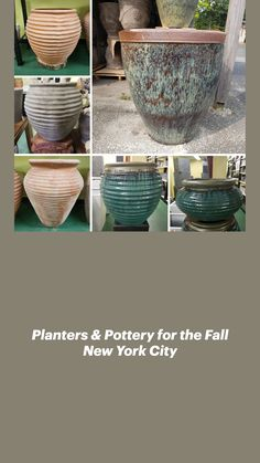 Holidays In New York, Autumn In New York, Event Planning, Serving Bowls, New York City, Planters, Pottery, Tableware, Home Decor