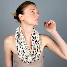 $74.00 #necklace #fabric #jewelry
