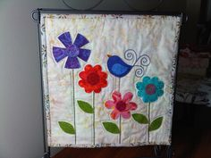 Quilting Chemist: One Flower Wednesday, 12 inch Mini Quilt Swap