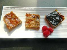 Vegan Oatmeal and Cranberry Bars