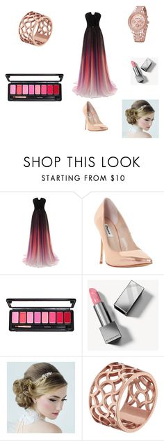 """""""Yule Ball #4"""" by booksmusicalsandcoffee ❤ liked on Polyvore featuring Dune, Burberry and Tartesia"""