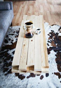 Couchtisch Aus Holz - Moderne Wohnzimmertische - Http://freshideen ... Moderne Wohnzimmertische