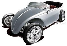 ragtop ratrod beetle - Google Search