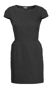 From Fashion Star:  Sarah's Black Amy Dress available at H&M