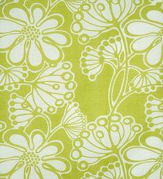 Fiona Howard Spring Angelica Fabric- Green