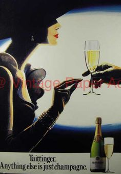 Taittinger Champagne – Anything Else is Just (1986)