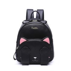 Peekaboo Kawaii Cat Backpack - Preppy Style School Backpack