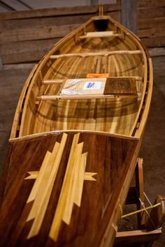 Custom Made The Grand, Cedar Strip Canoe