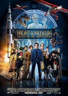 Night at the Museum 2 starring Ben Stiller, Amy Adams, Owen Wilson and Robin Williams