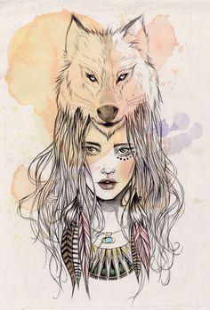 Image result for girl face tattoo design wallpaper