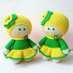 Crochet Square Patterns, Crochet Doll Pattern, Crochet Toys Patterns, Stuffed Toys Patterns, Crochet Doll Clothes, Knitted Dolls, Crochet Dolls, Handmade Dolls Patterns, Doll Patterns