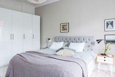 Pastel bedroom idea #pastel #color #tones #bedroom #bed #scandinavian #design #idea #inspiration #light #bright