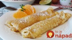 Satisfy your sweet tooth with these Orange and Vanilla Crepes! The perfect breakfast, brunch, or dessert- these beautiful crepes are so easy to make you'll want to make them all the time! French Crepes Recipe Easy, Easy Crepe Recipe, Crepe Recipes, Healthy Soup Recipes, Cooking Recipes, Cooking Games, Oven Cooking, Eat Healthy, Vegetarian Recipes