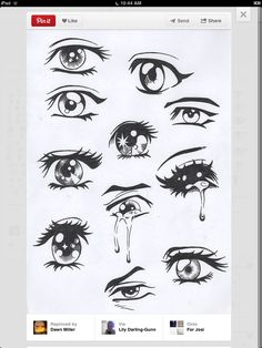 I wish I could draw ._. eye draw love you