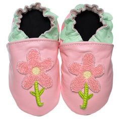 Jack and Lily Baby Shoes Delightful Daisy