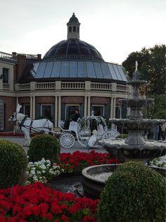 Cinderella Carriage Wedding at The Manor in West Orange, NJ
