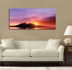 Twin Mountain Sunset