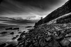 """""""Mussenden Temple from Downhill"""" captured by Richard Crowe / Filters for BW Photography"""