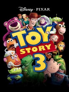 Toy story is getting better with time. Toy Story 3 is one of the greatest kids movies of all time. I would consider it the best Pixar movie since the original Toy Story. Disney Pixar, Disney Toys, Toy Story 3 Movie, Toy Story Party, Movie Tv, Pixar Movies, Hd Movies, Disney Movies, Walt Disney Pictures