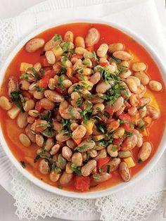 Zeytinyağlı barbunya Tarifi - Türk Mutfağı Yemekleri - Yemek Tarifleri