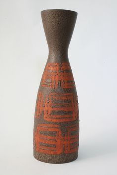 West Germany vase by Carstens