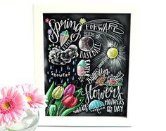 Winter Decor Word Collage vakantie Decor WordArt door TheWhiteLime