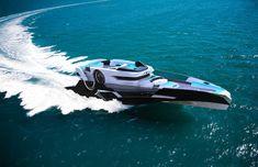 Pelagus Yacht, Sebastian Campos Moller, futuristic yacht, mega yacht, luxury yacht, future yacht, yacht concept, luxury life, luxury lifestyle, vip yacht, watercraft..