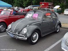 Vw engine tin and chrome dress up components pdubs vdubs volkswagen bug painted stock anthracite l469 fandeluxe Images