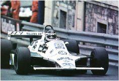 Carlos Reuteman (Saudia-Williams) vainqueur du Grand prix de Monaco 1980 - sport-auto juillet 1980.