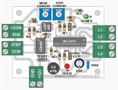 Potencia para step motor con entradas fotoacopladas   Inventable