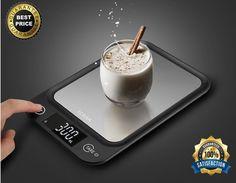 LED Digital Kitchen Scale KCASA HD Diet Food Postal Mailing 5KG/11LBS x 1g TARE #KCASA