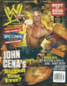 1000 images about magazine wwe on pinterest wwe. Black Bedroom Furniture Sets. Home Design Ideas