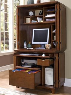 1000+ images about office on Pinterest   Computer armoire, Computers