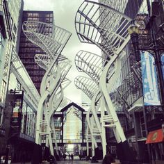 Stephen Avenue Walk #travel #calgary #alberta #canada