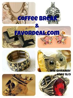 Thank You Giveaway [feat. Favordeal.com] ~ Coffee Break    http://coffeewithmel.blogspot.com/2012/08/thank-you-giveaway-feat-favordealcom.html
