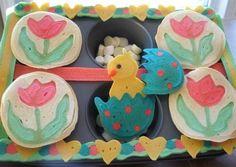 spring pancakes!  #pancakes #food fun #cute