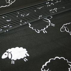 Bawełna owce nocą