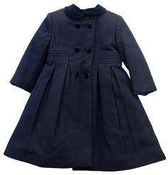Girl's traditional wool coat | Girls Traditional Classic Wool
