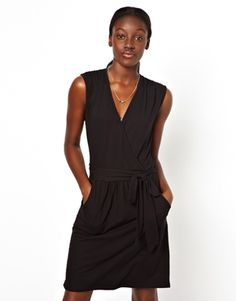 Image 1 ofVila Sleevless Wrap Dress