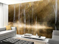 Karri Valley wall mural room setting